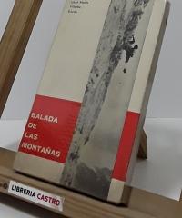 Balada de las montañas (dedicado por el autor) - José María Villalba Ezcay