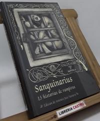 Sanguinarius. 13 Historias de vampiros - Varios