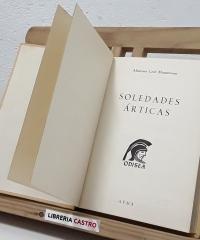 Soledades Árticas - Mountevans, Lord Almirante