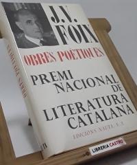 Obres poètiques (edició numerada) - J.V. Foix