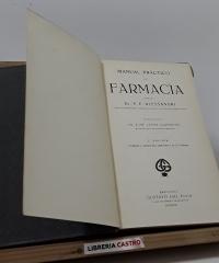 Manual práctico de farmacia - P.E. Alessandri, Dr