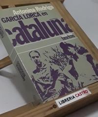 García Lorca en Cataluña - Antonina Rodrigo