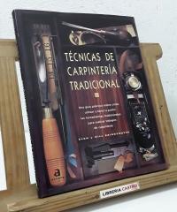 Técnicas de carpintería tradicional - Alan y Gill Bridgewater