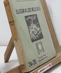 Elegia a los veleros (dedicado por el autor) - Jose Mª de Gavalda y Cabré
