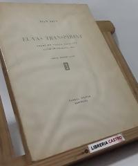 El vas transparent (edició numerada, en paper de fil, signat i dedicat per l´autor) - Joan Arús