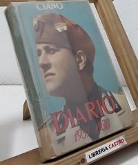 Diario 1937-1938 - Galeazzo Ciano, Conde