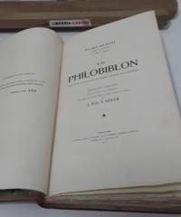 Lo Philobiblon. Tractat pulquèrrim sobre l'amor als llibres (Numerat) - Ricart de Bury