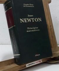 Principios matemáticos de la filosofía natural - Isaac Newton
