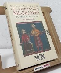 Diccionario de Instrumentos musicales - Ramón Andrés