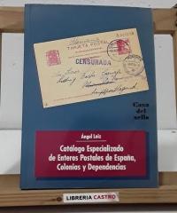 Catálogo especializado de enteros postales de España, Colonias y Dependencias - Ángel Laiz