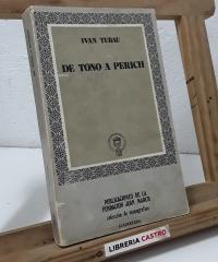 De Tono a Perich. El chiste gráfico en la prensa española de la posguerra 1939 - 1969 - Ivan Tubau