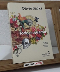 Todo en su sitio. Primeros amores y últimos escritos - Oliver Sacks