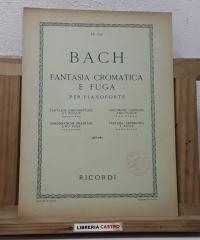 Fantasía cromática e fuga para piano - J. S. Bach