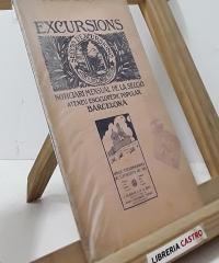 Excursions. Noticiari Mensual de la Secció d´Excursions. Aplec Excursionista de Catalunya de 1921 a Olèrdola - Varis