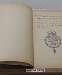 Catálogo de la Exposición celebrada en la Biblioteca Nacional en el tercer centenario de la publicación del Quijote - Varios