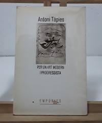 Per un art modern i progressista - Antoni Tàpies