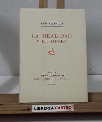 La realidad y el deseo (Facsímil) - Luis Cernuda