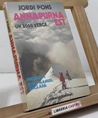 Annapurna est un 8000 verge - Jordi Pons