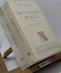 Diccionario Secreto (II tomos) - Camilo José Cela