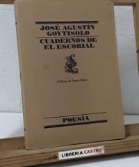 Cuadernos de El Escorial - José Agustín Goytisolo