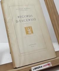 Records d´Excursió (edició numerada) - Francesc Maspons i Anglasell