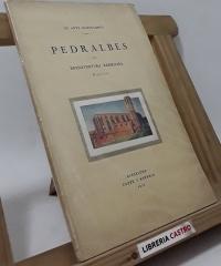 Pedralbes. Notas artístico bibliográficas del Real Monasterio (dedicado por el autor) - Buenaventura Bassegoda