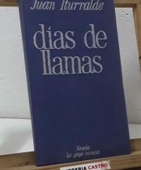 Días de llamas - Juan Iturralde