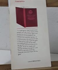 What the Soviet Constitution Guarantees - Leonid Brezhnev