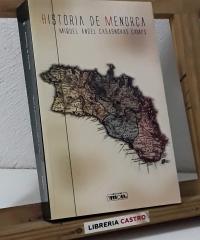 Història de Menorca - Miquel Àngel Casasnovas Camps