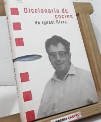Diccionario de cocina - Ignasi Riera