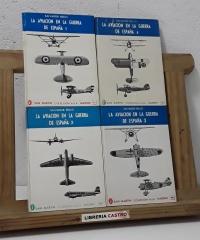 La aviación en la Guerra de España (IV Tomos, Completo) - Salvador Rello