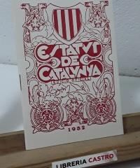 Estatut de Catalunya. Edició Oficial 1932 (Facsímil) - Varios