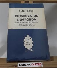 Comarca de l´Empordà - Anna Rubiés