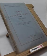 Galería de catalanes ilustres. Biografías vol. I - Varios