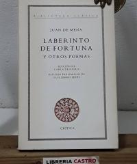 Laberinto de fortuna y otros poemas - Juan de Mena