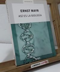 Así es la biología - Ernst Mayr